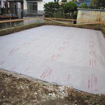 掘らない地盤補強-GRRシート工法