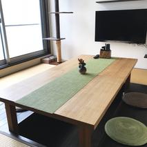 栗のテーブル天板が届いた