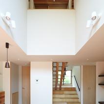 「坂道の家」設計事例にUPしました