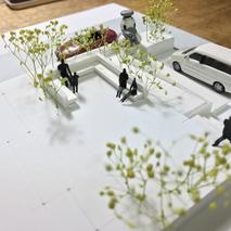 模型の製作中