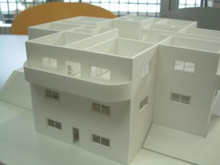 十字屋敷 模型