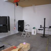 製作した作品を写真撮影するためのスタジオとしての利用もあるの画像