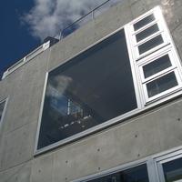 打ち放しの外壁は住み手の個性の一つでもあるの画像